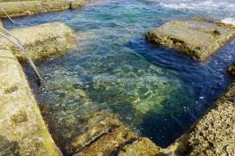 Rock Pools of Sliema. © Tiffany Cromwell