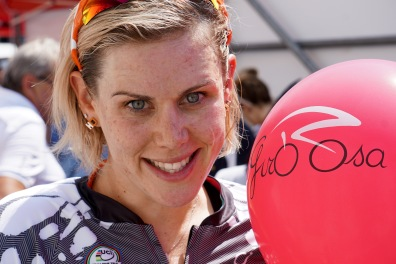 Balloons to celebrate the Giro. ©Tiffany Cromwell