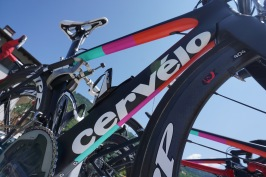 The Cervelo S5 race machines. ©Tiffany Cromwell