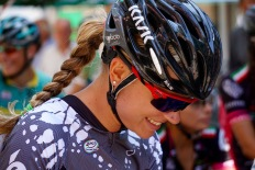 Tayler happy for another day of racing. ©Tiffany Cromwell
