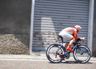 Alena during stage 8 ITT