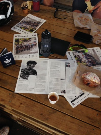 The Rapha Pop-Up was a popular hangout ©WMNCycling