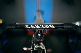 The aero cockpit of the Canyon Ultimate CF SLX ©Ergo Performance Cycling Fitness