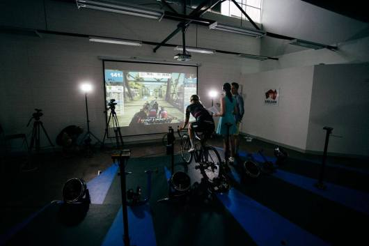 Live Swift Session ©Ergo Performance Cycling Fitness