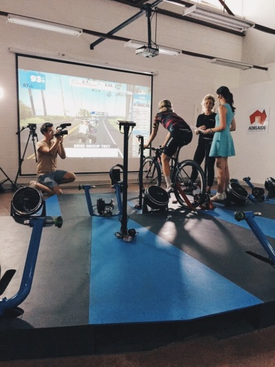 Behind the Scenes Live Swift Session ©Ergo Performance Cycling Fitness
