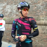 Tiffany focused and ready for Strade Bianche ©WMNCycling