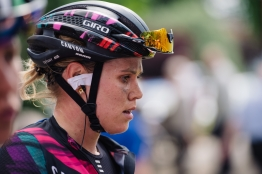 Hard day done for Tiffany Cromwell (CANYON//SRAM Racing) at Aviva Women's Tour 2016 - Stage 1. A 138.5 km road race from Southwold to Norwich, UK on June 15th 2016. ©Velofocus