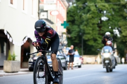 Tiffany Cromwell (CANYON//SRAM Racing) at Giro Rosa 2016 - Prologue. A 2 km individual time trial in Gaiarine, Italy on July 1st 2016. ©Velofocus
