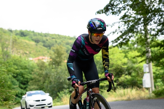 Tiffany Cromwell (CANYON//SRAM Racing) taking on the hilly time trial at Giro Rosa 2016 - Stage 7. A 21.9 km individual time trial from Albisola to Varazze, Italy on July 8th 2016. ©Velofocus