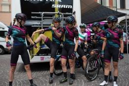 the Giro Rosa 2016 - Stage 3. A 120 km road race from Montagnana to Lendinara, Italy on July 4th 2016. ©Velofocus