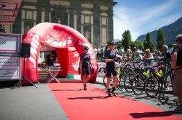 the Giro Rosa 2016 - Stage 5. A 77.5 km road race from Grosio to Tirano, Italy on July 6th 2016. ©Velofocus