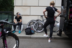 the Prudential RideLondon Classique, a 66 km road race in London on July 30, 2016 in the United Kingdom. ©Velofocus