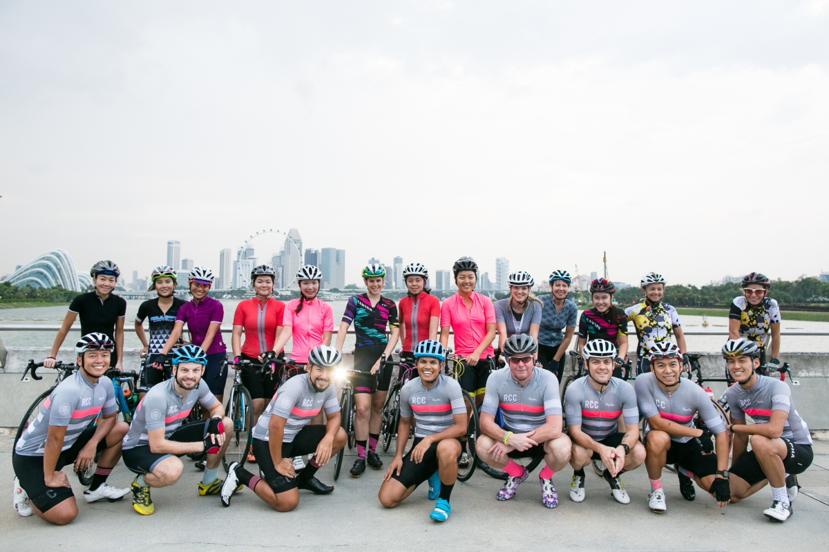 Rapha World Tour - Destination Singapore